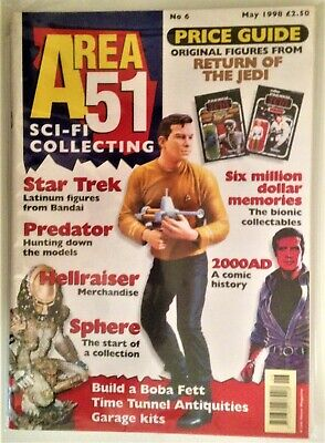 Area 51 SCI-FI Collecting UK Magazine Issue #6 May 1998 Star Wars