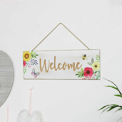 LP0255 Welcome Sign Rustic Auto License Plate Home Cafe Restaurant Door Decor