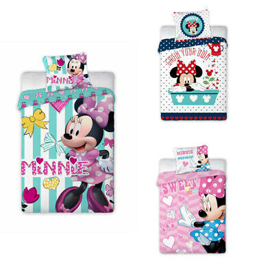 Disney Minnie Mouse Baby Bed Linen 100x135 CM