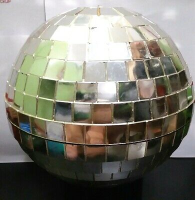 "1970's  Disco Plastic Mirror Ball 6"" inch"
