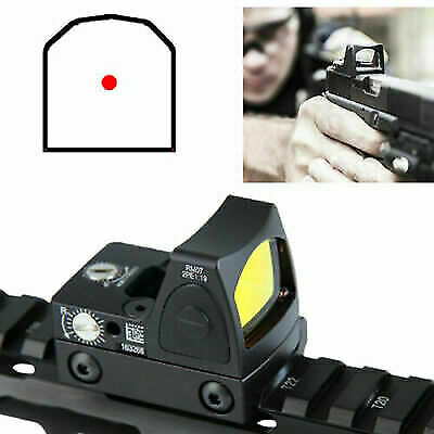 For Glock 3.25 MOA RMR Reflex Mini Red Dot Sight Collimator Scope & Kill Flash
