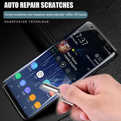 For Samsung Galaxy S8 S9 Plus Note HYDROGEL AQUA FLEX Film Screen Protector
