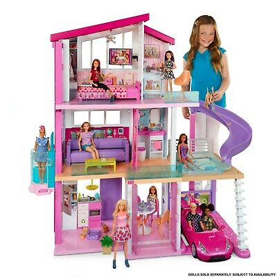NEW Barbie DreamHouse Playhouse With 70+ 2in1 Accessories 8 Rooms 3 Floors