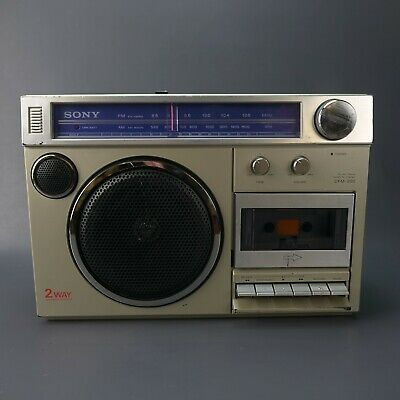 Vintage Sony CFM-200 Radio Cassette Player