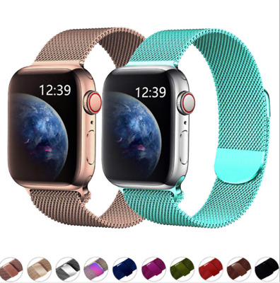 Magnetic Milanese Band Bracelet Strap For iwatch Apple watch Series 1 2 3 4 5