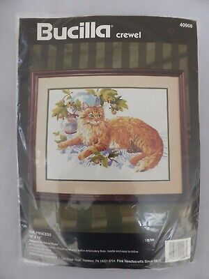 Bnip Bucilla Crewel Embroidery Kit The Princess 40908