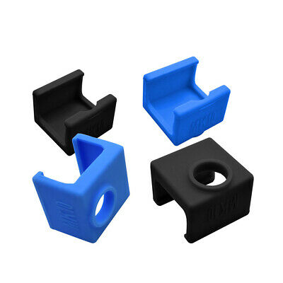 Silicone Sock Cover For MK10 3D Printer Aluminum Heater Block Part DT