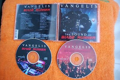 Vangelis - The Sound Of Blade Runner - Soundtrack Score. 2Cd.  Very Very Rare.