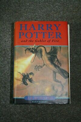 Harry Potter and the Goblet of Fire by J.K. Rowling (Hardback, 2000)