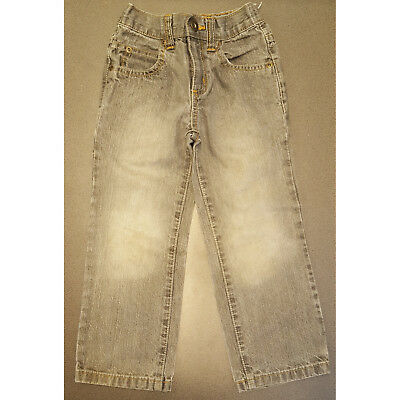 Boys Next Faded Grey Jeans Adjustable Waist 5 Years