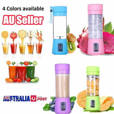 2019 New Brand New The Ultimate Portable Blender rechargeable Electric 380ml AU