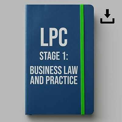 LPC Notes 2019 | University of Law Stage 1 BLP Notes | Distinction Leve