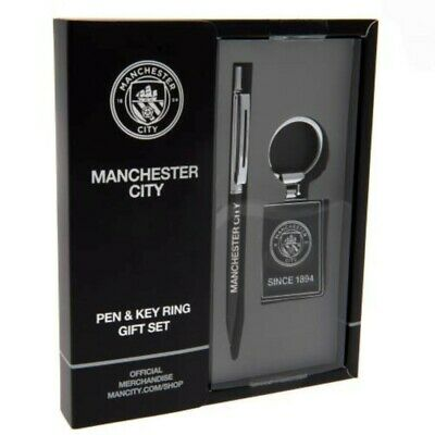 Manchester City F.c. Pen Keyring Set