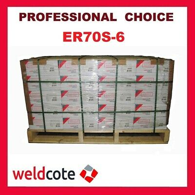 60 Rolls X 33 Lb Pallet Weldcote MIG Welding  Wire ER70S-6 Choice of Diameter