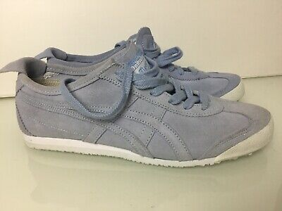 Onitsuka Tiger Mexico 66 Trainers In Baby Blue Suede. UK 4. Excellent Condition