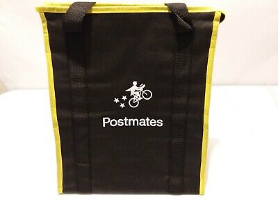 Postmates Insulated food delivery bags carry Hot or Cold Items Brand New.