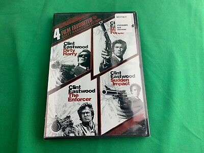 4 Film Favorites: Dirty Harry Collection DVD Clint Eastwood BRAND NEW & SEALED