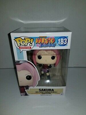 Funko Pop Sakura #183 Naruto Shippuden Anime Double Boxed
