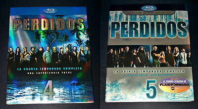 Perdidos (Lost) SOLO FUNDAS ONLY SLIPCOVERS Temporadas 3 4 5 Bluray Blu-ray Blu