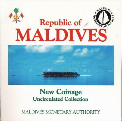 Maldives, 1984 Uncirculated Mint set of 6 coins