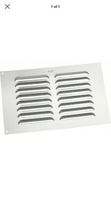 """Map Alum Louvre Vent 9"""" x 6"""" Brand New - 20 Pack Great Value For Money"""