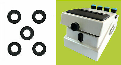 Boss Guitar Pedal Stompbox Replacement Rubber Grommet Guide Bush x 5