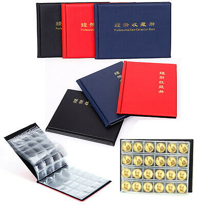 Collecting Coin Money Penny Storage Album Book 240 Holder Case Collectors