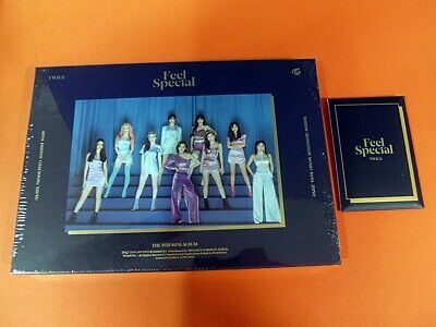 TWICE - Feel Special (B Ver.) CD w/Booklet +6 Photocard+ Pre-Order Benefit K-POP