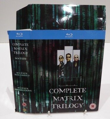 The Complete Matrix Trilogy - Blu Ray Cardboard Slipcover Only
