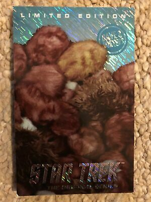 Dave And Buster's Star Trek Tribbles Limited Edition Hologram Foil Card Rare