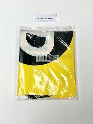 JD Sports Drawstring Duffle Gym Swimming School Bag LIMITED EDITION Yellow/Black