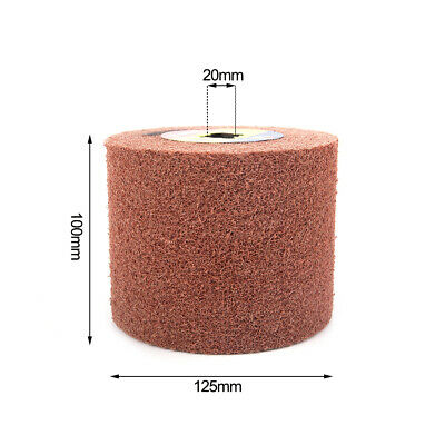 5 Inch High Quality Abrasive Wire Drawing Wheel For Polishing Rust Removal Tools