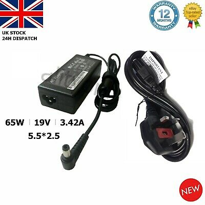 Asus Laptop Charger AC Adapter Power Supply 19V 3.42A 5.5*2.5mm 65W X502C X550C