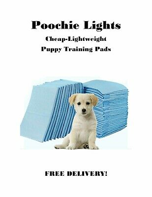 300-23x36 XL LOW COST Single Use Light Grade 3-Layer Puppy Dog Pee Piddle Pads