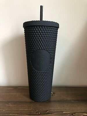 Starbucks 2019 Matte Black Studded Cold Cup Tumbler *Limited Edition*- Fall 2019