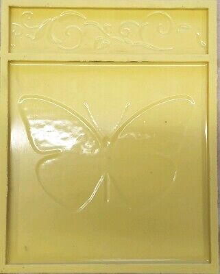 POLYURETHANE MOULD Wall Tiles Decorative Element Butterfly Amauris and Vine