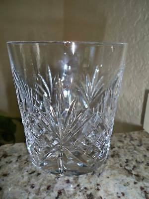 * 4 * MIKASA Crystal LARCHMONT Whiskey / OLD FASHIONED Glasses~ Excellent Unused