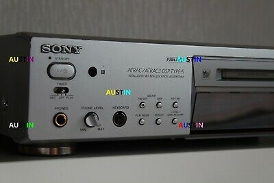 Sony Mds Jb780 Net Md Minidisc Player Recorder Deck .