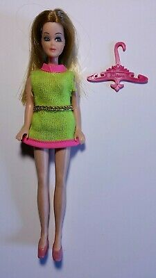 Vintage Topper Toys Dawn Doll with Rare Original Outfit, Shoes Very Good