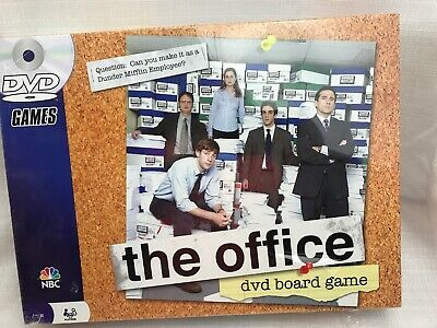 The Office DVD Board Game Pressman Trivia Dunder Mifflin Party Family Sealed NEW