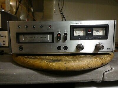 Realistic 8-Track Player Tr-884