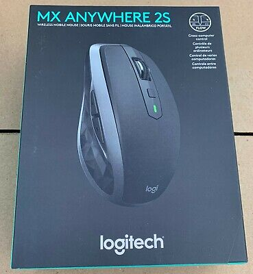 Logitech MX Anywhere 2S Wireless Mouse Graphite PN: 910-005132