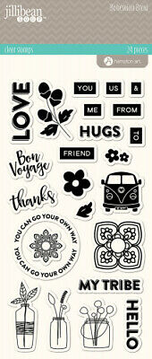 Bohemian Brew Clear Stamps. Hampton Art. Shipping is Free