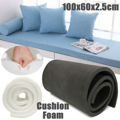 40''x24''x1'' High Density Seat Foam Cushion Replacement Upholstery Firm