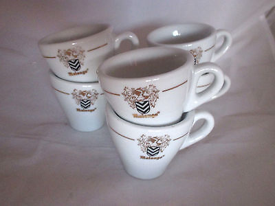 Lot 6 ou 12 tasses café publicitaires Malongo bistrot Advertising coffee cups