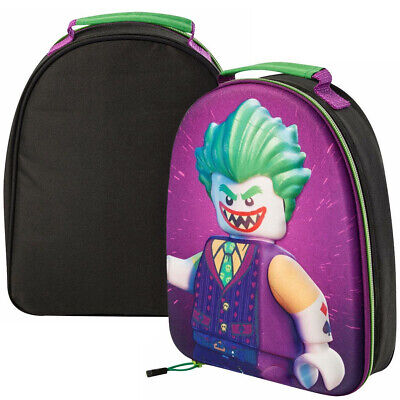 Lego The Batman Movie 3D Joker EVA School Insulated Picnic Carry Lunch Box Bag