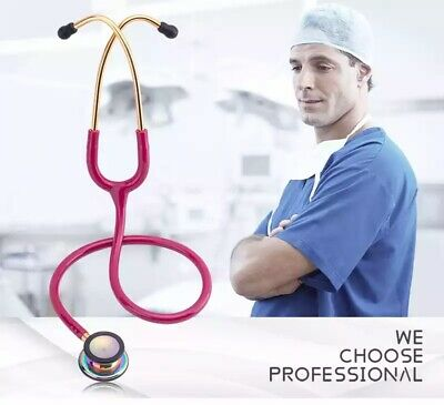 Cardiology Doctors and Nurse   Stethoscope Rainbow-Finish
