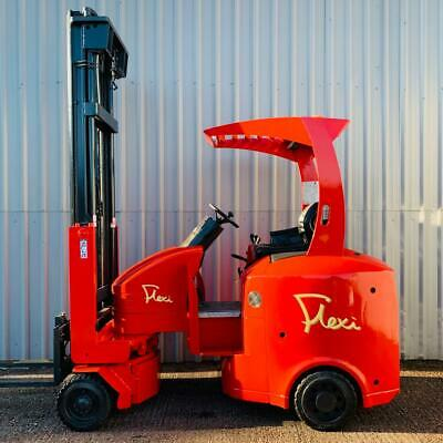 FLEXI G4AC, 2000Kg. USED ARTICULATED ELECTRIC FORKLIFT TRUCK. (#2594)