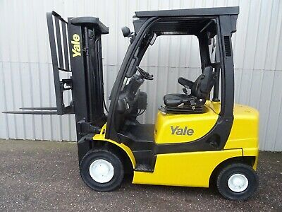 YALE GDP20VX. 3300mm LIFT. USED DIESEL FORKLIFT TRUCK. (#2587)