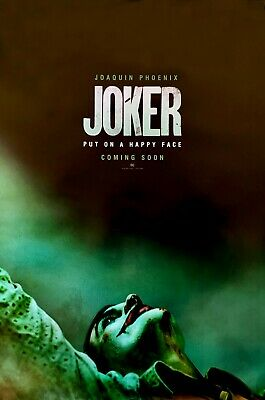 JOKER 2019 TEASER / ADVANCE Repro US / International One Sheet 27X41""